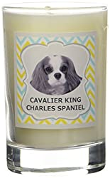 Aroma Paws Breed Candle in Glass with Gift Box, Cavalier King Charles Spaniel[Amazon/Aroma Paws]