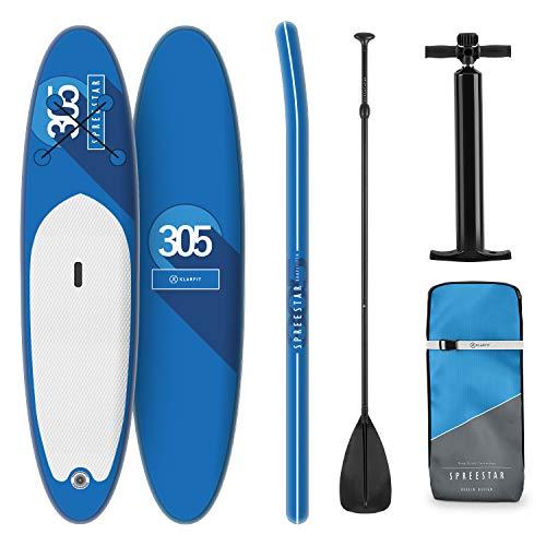 Tabla Paddle Surf Hinchable - SPREESTAR 305x10x77 cm Sup Surf, Paddleboard, Bomba...