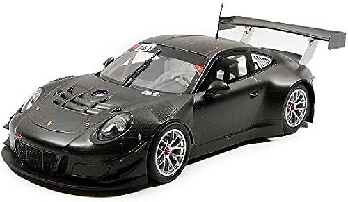 Minichamps 155156161 Porsche 911 991 3 – ppen Test NürburGrüng 2015 Echelle 1 18 SchwarzMatt