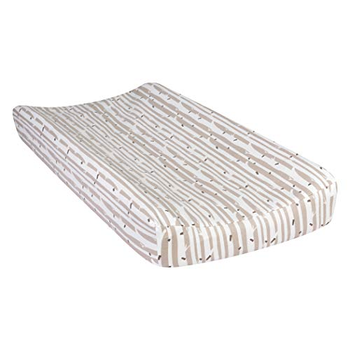Trend Lab Deluxe Flannel Changing Pad Cover, Birch