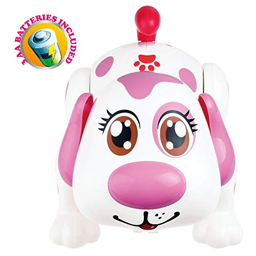 Electronic Pet Dog Interactive Puppy - Robot Helen Responds to Touch, Walking, Chasing and Fun Activities