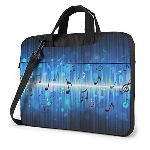 XCNGG Bolso de hombro Computer Bag Laptop Bag Carrying Laptop Case, Dog Puppy Beach Sunglasses Umbrella Computer Sleeve Cover with Handle, Business Briefcase Protective Bag for Ultrabook, MacBook, So