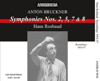 Bruckner: Symphonies Nos. 2, 5, 7 & 8