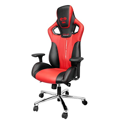 E-BLUE Cobra Gaming Chair, Red