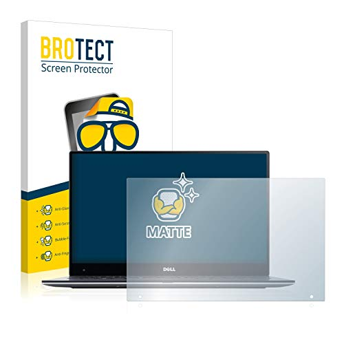 BROTECT Entspiegelungs-Schutzfolie kompatibel mit Dell XPS 13 9360 QHD Touch Bildschirmschutz-Folie Matt, Anti-Reflex, Anti-Fingerprint