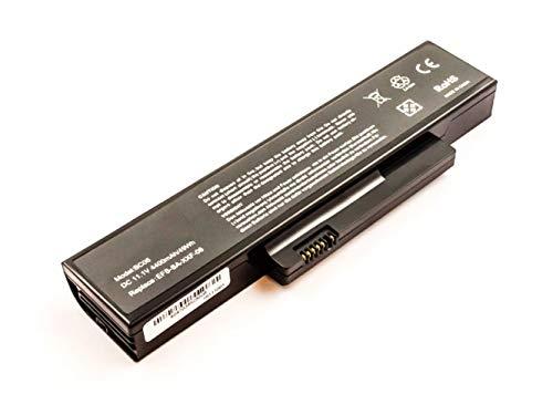Akku für Fujitsu Siemens Esprimo Mobile V5515, V5535, V5555, V6515, V6555, wie EFS-SS-22E-06, FOX-EFS-SA-XXF-04, S26391-F6120-F470, S26393-E27-V474, 11.1V, 4400 mAh