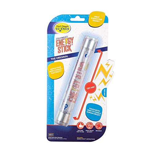 Steve Spangler Science Energy Stick – Fun Science Kits for Kids to Learn About Conductors of Electricity, Safe, Hands-On STEM Learning Toy, Independent or Group Activity for Classrooms or Home