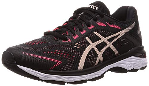 Asics Gt-2000 7, Zapatillas de Running para Mujer, Negro (Black/Breeze 004), 35.5 EU