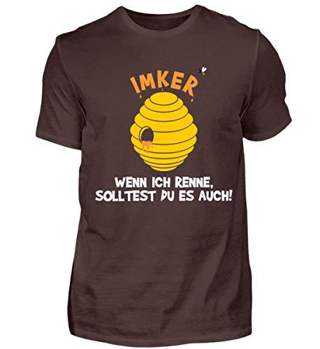 Hochwertiges Herren Shirt - IMKER Geschenk LUSTIGES BIENENZÜCHTER T-Shirt Bienenzucht Shirt IMKEREI Spruch
