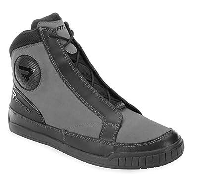 Bates Taser Performance Men's Motorcycle Boots (Grey, Size 9)