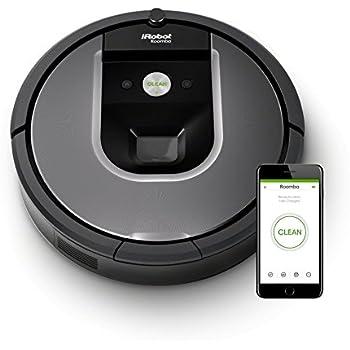 【Amazon.co.jp限定】ルンバ 961 アイロボット ロボット掃除機 カメラセンサー カーペット 畳 段差乗り越え wifi対応 自動充電・運転再開 吸引力 マッピング R961060【Alexa対応】
