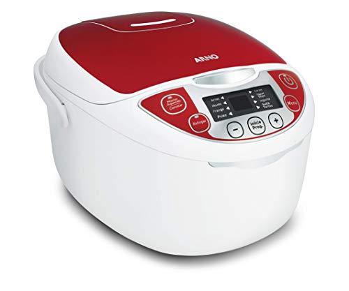 Panela Multicooker 12 Funções 5l Arno Branco/vermelho 220v