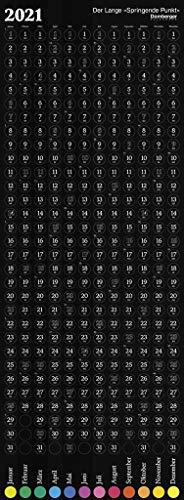 Der Lange Springende Punkt schwarz 2021 36x98: Das Original