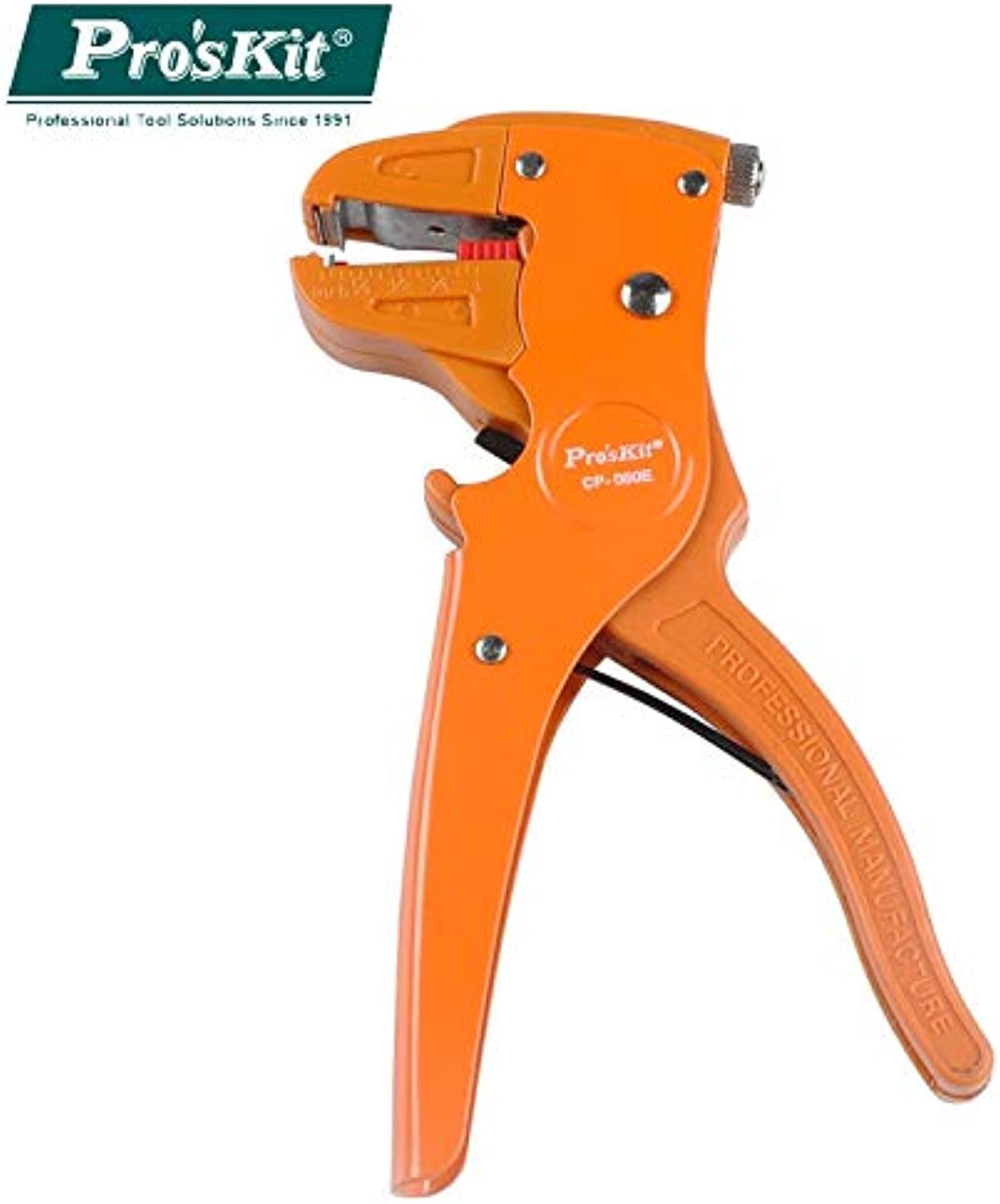 Pro'skit CP-080E 0.2-4.0mm2 Practical Duckbill Type Single Cable Wire Stripper Computer Cable Wire Stripper Duckbill Pliers