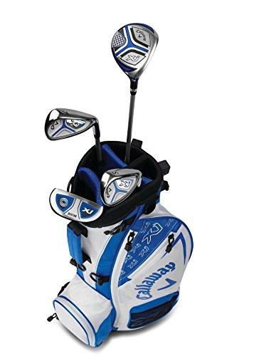 Callaway Golf Xj Junior Golf Set, Level 1, 4 Piece Set, Right Hand, White