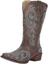 Roper womens Riley Western Boot, Brown, 8 US