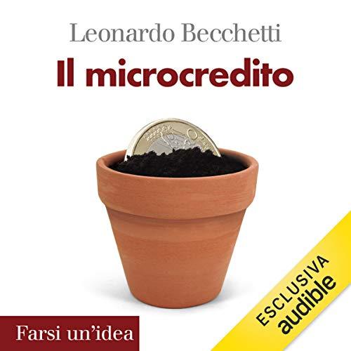 Il microcredito copertina
