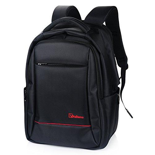 Vitalismo Zaino Portatile Impermeabile anti-furto, Computer Portatile Laptop BusinessZaino Portatile Computer 15.6 Inch Borse-Nero