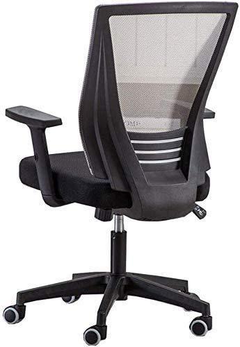 Elegante silla oficina, silla giratoria Silla de ocio ergonómica para el hogar | Silla de oficina de diseño de malla transpirable | Para oficinas para el hogar escritorio de computadora | alta capacid