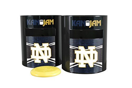 Kan Jam Notre Dame Fighting Irish Disc Slam Outdoor Game, NCAA Licensed Set, 11.875