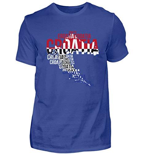 Kroatien Hrvatska Nationalmannschaft Fussball Soccer Flagge Kroatisches Trikot Geschenk - Herren Shirt
