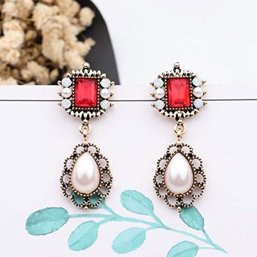 JINGM Boucles d'oreilles en Perles De Mode Simulées pour Femmes