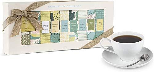 Modern Gourmet Foods - Tea Discovery Collection Tee Geschenkset - Set mit neun Geschmacksrichtungen