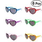 YeahiBaby Herzform Brille Halloween Brillen Spaßbrille Partybrille Sonnenbrillen Lustige Spielzeug...