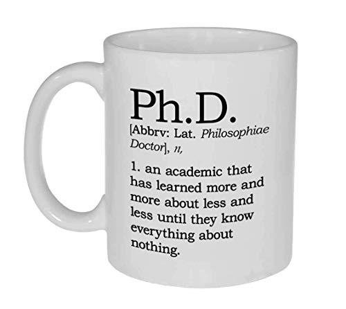 Definition of Ph.D. 11 ounce Coffee or Tea Mug