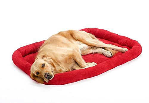 Hondenbed voor grote honden, bank, middelgroot, voor honden, mat, ligstoel, goud