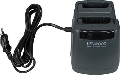 Kenwood Caricabatterie Doppio per ricetrasmittente FUNKEY 446 (Serie UBZ-LJ8)