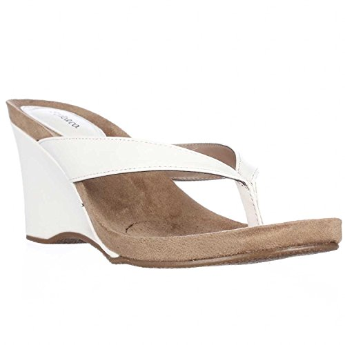 Price comparison product image Style & Co Chicklet Women US 7 White Wedge Sandal