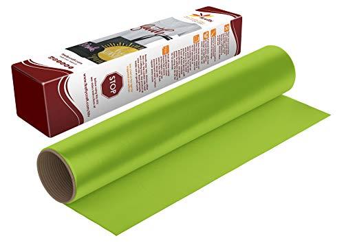 Firefly Craft Regular Lime Green Heat Transfer Vinyl Sheet | Lime Green HTV Vinyl | Lime Green Iron...