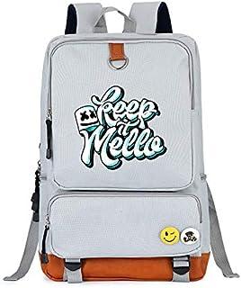 DJ Marshmello Casual Daypacks Backpacks Canvas