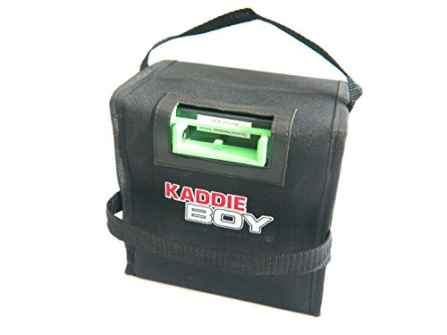 Kaddie Boy Limited - Golf-Akku-Tasche/Abdeckung für Powakaddy – robuste Tragetasche – 24 Ah bis 28 Ah