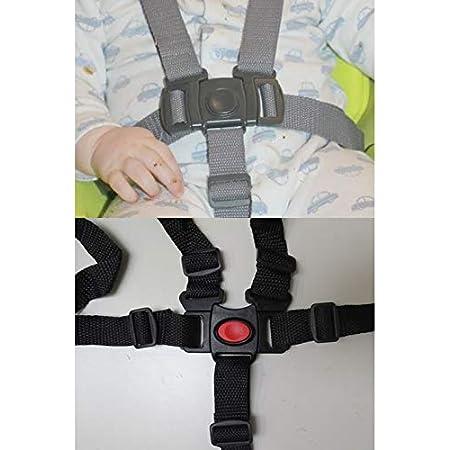Arnés De 5 Puntos Hebilla Con Correas De Repuesto Compatibles Con Modelos Graco Duetconnect Swing Rocker Bouncer Asiento De Seguridad Para Bebés Niños Niños Baby