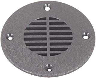 T-H Marine FD-4-DP Floor Drain and Vent Cover - Black, 4