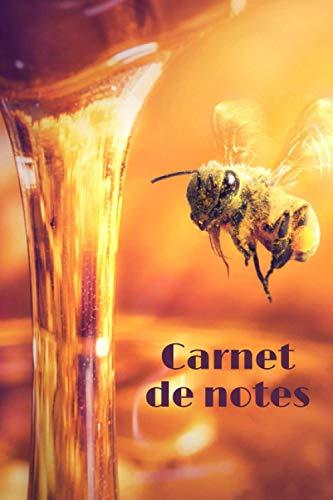 Carnet de notes: Abeilles | Carnet de notes | 110 pages avec intérieur fleuri, 6x9 pouces | Apiculture/Miel/Honey/Ecologie | Parfait pour offrir !