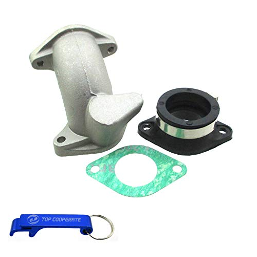 TC-Motor Carb Intake Adapter Boot Rubber Pipe Flange For Zongshen 190cc ZS1P62YML-2 Z190 Engine Pit Dirt Bike For Daytona Anima 150 190 FLX