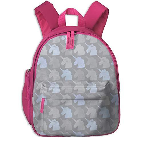 Zaino per bambini 2 anni,Salvar A Los Unicornios 600_5401-lisabarbero,For children's schools Oxford cloth (pink)