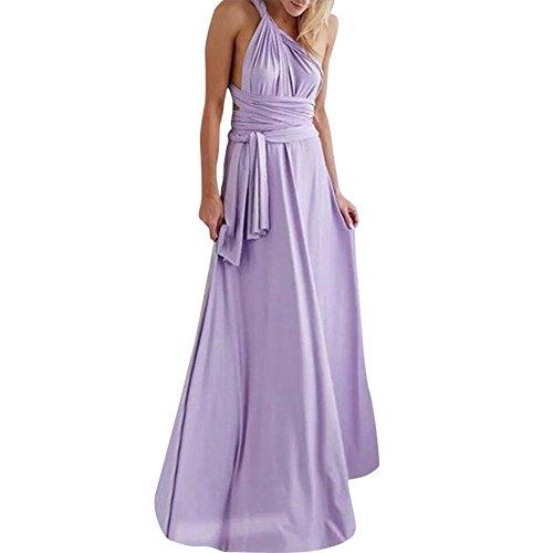 Lover-Beauty Vestido Largo Elegante para Fiesta Dama de Hono