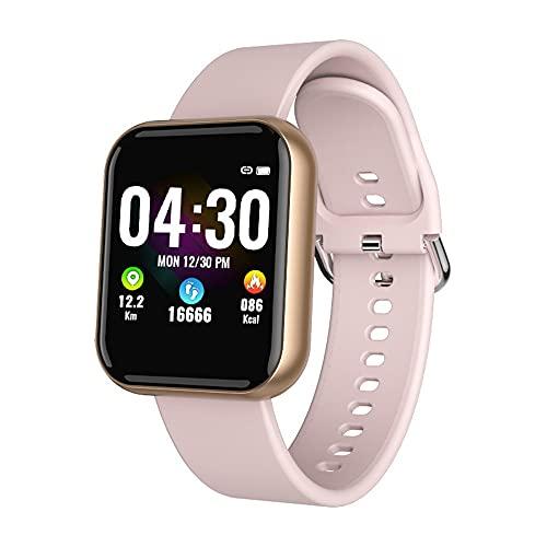 chengjinhuashangmao Reloj Deportivo Inteligente, Detección de Salud de frecuencia cardíaca, podómetro de sueño, Impermeable (Color : C)