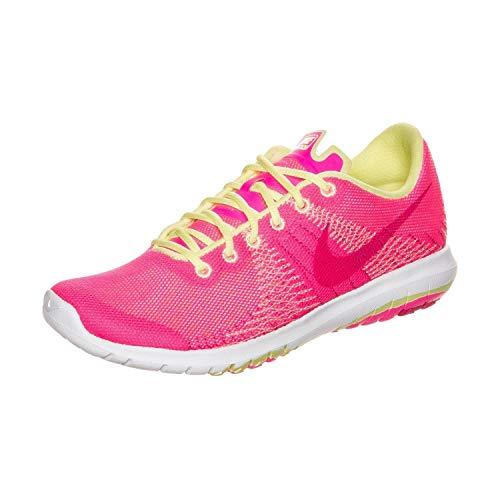 Nike Preschool Flex Fury (PS) Pink POW/Liquid Lime/White/Vivid 725071-600 13
