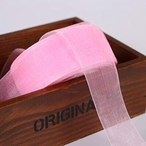 (10 Yards/Lot) 4cm (40mm) Organza Bänder Großhandel Geschenkverpackung Dekoration Weihnachtsbänder, 004