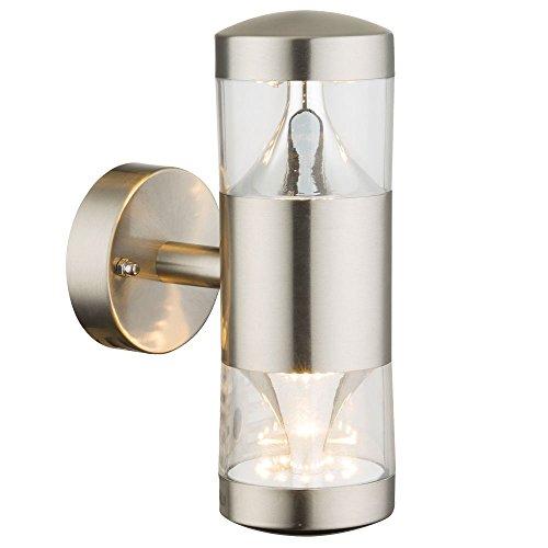 Globo 34206W Lampe extérieure, Plastique, 7 W, Silver