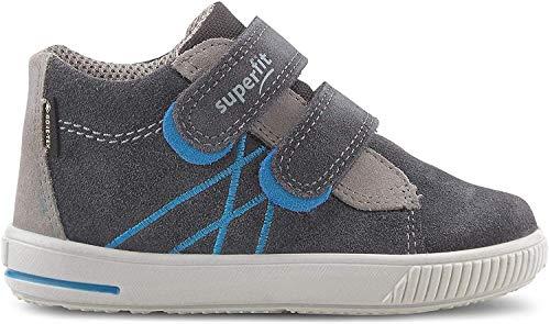 Superfit Baby Jungen Moppy Gore-Tex Sneaker, Grau (Grau 20), 22 EU