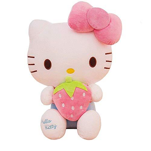 XQYPYL Carino Hellokitty Giocattoli di Pezza Bambola Decorazione Domestica Ragazza Bambini Compleanno Regali 30cm-65cm,Rosa,30cm