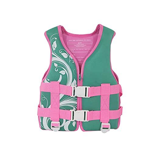 DXKN Sommer Schwimmweste Kinder 15-30kg Verstellbare Rettungsweste Schwimmweste für Boote Licht Auftriebsweste Kinder Tauchausbildung Schwimmwesten Kinderschwimmwesten