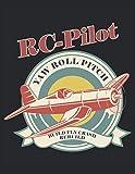 RC-Pilot Modellbau Build Fly Crash Rebuild: Notizbuch | Notebook | Kariert, 21.59x27.94cm (8.5'x11'), 120 Seiten, cremefarbene Seiten, mattes Cover