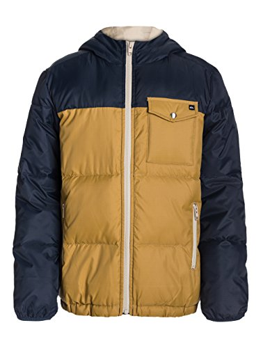 Quiksilver Baran - Blouson - Garçon - Multicolore (Navy Blazer) - FR: 14 ans (Taille fabricant: 14 ans)
